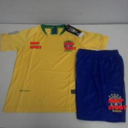 ชุดบอลโลกเด็กทีมบราซิลเหย้า