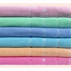 ผ้าขหนู Cotton100% 27*54นิ้ว 9ปอนด์ โหลละ 1180บาท ส่ง 10 โหล