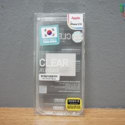 iPhone 5, 5s, SE - เคสใส TPU Clear Mercury Jelly Case แท้