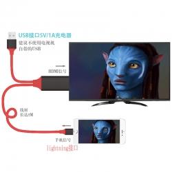 สาย Lightning HDTV Cable ส่งภาพจากมือถือเข้าทีวี (iPhone iPad iPod / lightning port) แท้