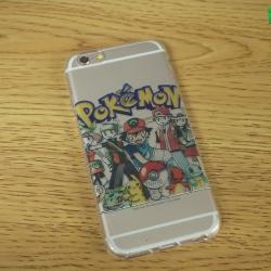 iPhone 6 / 6s - เคสใสลาย เทรนเนอร์ Pokemon