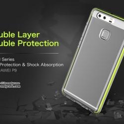 Huawei P9 - ROCK SPACE Guard Series case เคสใส กันกระแทก แท้