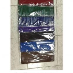 ผ้าถุงโทเร สีพื้น 105*180ซม. ผืนละ 110บ ส่ง 100ผืน