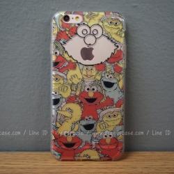 เคสใส TPU Sesame Street - iPhone 6, 6s