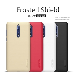 Nokia8 - เคสหลัง Nillkin Super Frosted Shield แท้