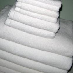 ผ้าขนหนู Cotton100% ด้ายคู่ สีขาว ผ้าเช็ดหน้า 12*12นิ้ว 1.5ปอนด์ โหลละ 240บาท ส่ง 20โหล