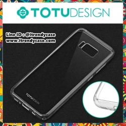 Samsung S8 Plus - เคสใส Ultra-Thin TPU/PC TOTU DESIGN แท้