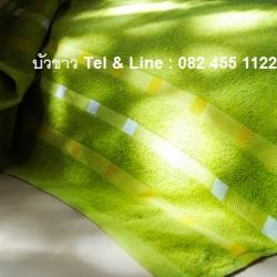 ผ้าขนหนู #556 Cotton100% ผ้าเช็ดผม 15*30นิ้ว 2.8ปอนด์ โหลละ 415บาท ส่ง 10โหล