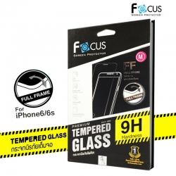 iPhone 6 Plus / 6s Plus (เต็มจอ) - ฟิลม์ กระจกนิรภัย FULL FRAME FOCUS แท้