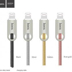 สายชาร์จ HOCO U8 Zinc Alloy Metal Light Cable (iPhone iPad iPod / lightning port) แท้