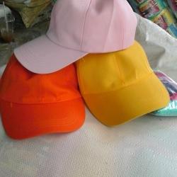 หมวกแก๊ปสีล้วน