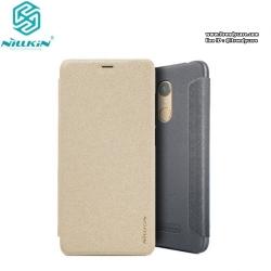 Xiaomi Redmi 5 Plus - เคสฝาพับ Nillkin Sparkle leather case แท้