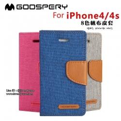 iPhone 5, 5s, SE - เคสฝาพับ Mercury Canvas Diary แท้