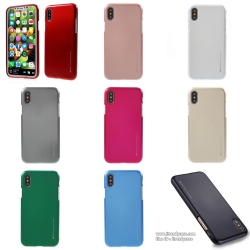 iPhone X - เคส TPU i-Jelly Metal Case by GOOSPERY (Mercury) แท้