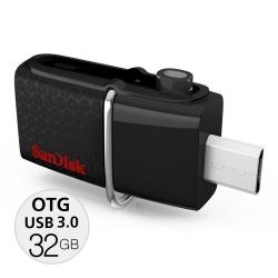 Sandisk Ultra Dual USB 3.0 OTG 32GB speed130MB/Sec แท้