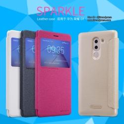 Huawei GR5 2017 - เคสฝาพับ Nillkin Sparkle leather case แท้