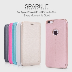 iPhone 6 Plus, i6s Plus - เคสฝาพับ Nillkin Sparkle leather case แท้