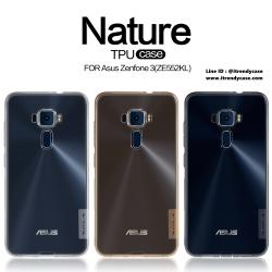 ASUS Zenfone 3 5.5 - เคสใส Nillkin Nature TPU CASE สุดบาง แท้