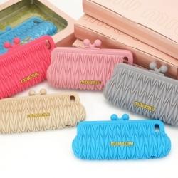iPhone 5 / 5s / SE - เคสซิลิโคน กระเป๋า MIU MIU Case