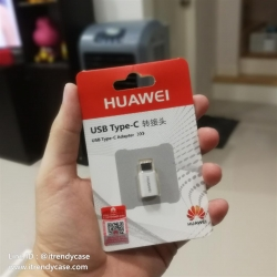 Huawei Adapter หัวแปลง Micro USB to USB Type-C Adapter แท้
