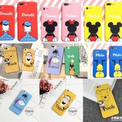 iPhone 7 - เคสแข็งปิดขอบ ลาย Disney น่ารัก