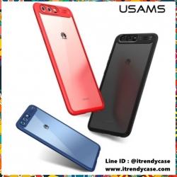 Huawei P10 - เคสหลังใส MANT Series (TPU+PC) USAMS แท้