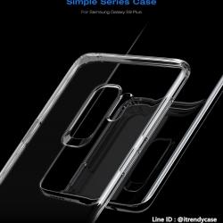 Samsung S9 Plus - เคสใส TPU Baseus Simple Series Case แท้