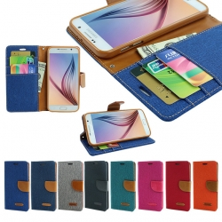 Samsung S7 Edge - เคสฝาพับ Mercury Canvas Diary แท้