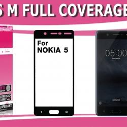 Nokia5 (เต็มจอ) - กระจกนิรภัย FULL FRAME Dapad แท้ (ดีที่สุดในตอนนี้!!)