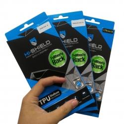 iPhone X (ฟิลม์หลัง) - Hi-Shield TPU Full Body Back ฟิลม์ใสเต็มหลัง แท้