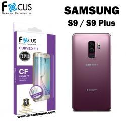 Samsung S9 Plus (เต็มจอ) - ฟิล์มเต็มจอลงโค้ง Focus (CURVED FIT TPU) แท้