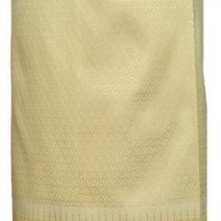 ผ้าถุงป้ายข้างฯ สีครีมเหลือง-2 (เอวใส่ได้ถึง 34 นิ้ว) *รายละเอียดในหน้าสินค้า