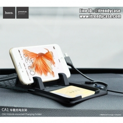 HOCO CA1 Multipurpose Car Charger Holder ( แท่นวางหน้าคอนโซล + สายชาร์จ) แท้