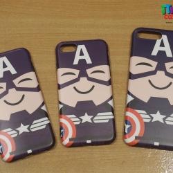 iPhone 6 / 6s - เคส TPU ลาย Captain America