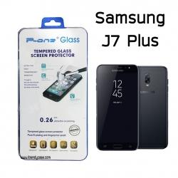 Samsung J7 Plus - ฟิลม์ กระจกนิรภัย P-One 9H 0.26m ราคาถูกที่สุด