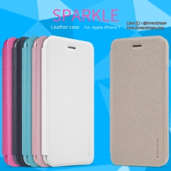 iPhone 7 - เคสฝาพับ Nillkin Sparkle leather case แท้