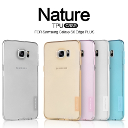 Samsung Galaxy S6 Edge Plus - เคสใส Nillkin Nature TPU CASE สุดบาง แท้