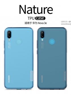 Huawei Nova 3e - เคสใส Nillkin Nature TPU CASE สุดบาง แท้