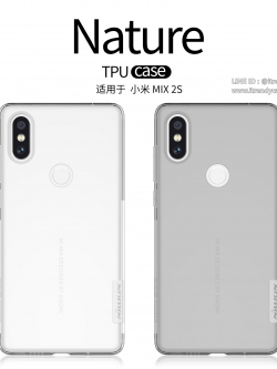 Xiaomi Mi Mix 2s - เคสใส Nillkin Nature TPU CASE สุดบาง แท้
