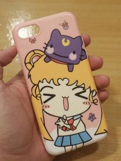 iPhone 8 / 7 - เคส TPU ลาย Sailor moon Cartoon
