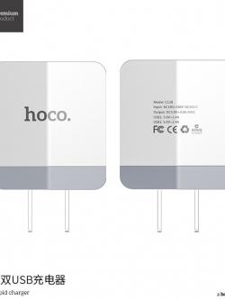 HOCO C13B CHARGER DUAL USB หัวชาร์จ 3.4A ชาร์จไว งานดี แท้