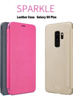 Samsung S9 Plus - เคสฝาพับ Nillkin Sparkle leather case แท้