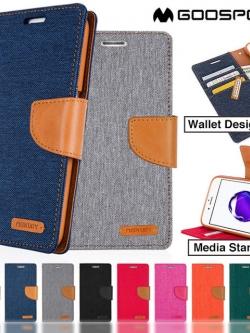 iPhone 7 Plus - เคสฝาพับ Mercury Canvas Diary แท้