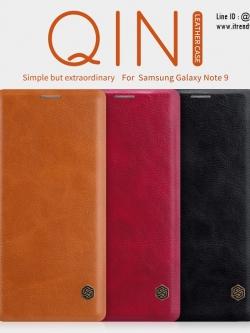 Samsung Note9 - เคสฝาพับ หนัง Nillkin QIN Leather Case แท้