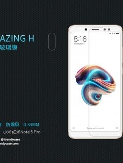 Xiaomi Redmi Note 5 - กระจกนิรภัย Nillkin Amazing H แท้