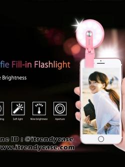 HOCO HM1 ไฟส่องเซลฟี่ Spotlight 9LED Flash ใช้ได้กับมือถือทุกรุ่น แท้