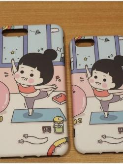 iPhone 8 Plus / 7 Plus - เคส TPU ลาย Exercise Girl