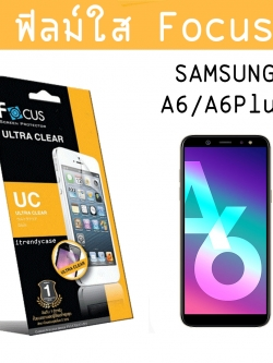 Samsung A6 Plus 2018 - ฟิลม์กันรอย (ใส) Focus แท้