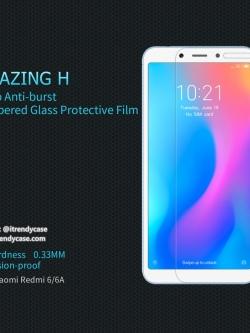 Xiaomi Redmi 6 / 6A - กระจกนิรภัย Nillkin Amazing H แท้