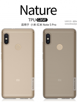 Xiaomi Redmi Note 5 - เคสใส Nillkin Nature TPU CASE สุดบาง แท้